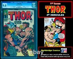 Thor 126 Cgc 9.0 Ow White Key Hercules After Journey Into Mystery Annual 1