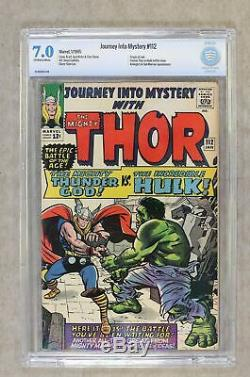Thor (1st Series Journey Into Mystery) #112 1965 CBCS 7.0