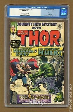 Thor (1st Series Journey Into Mystery) #112 1965 CGC 7.0 0055877009