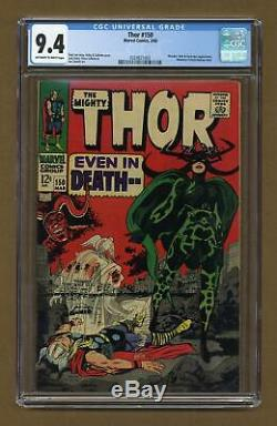 Thor (1st Series Journey Into Mystery) #150 1968 CGC 9.4 0324821003