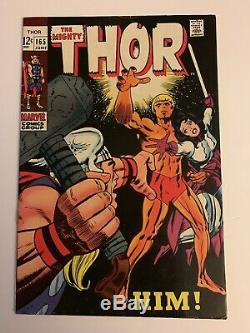 Thor (1st Series Journey Into Mystery) #165 1969 CGC 6.0 2015467008