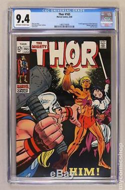 Thor (1st Series Journey Into Mystery) #165 1969 CGC 9.4 1465114009