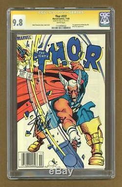 Thor (1st Series Journey Into Mystery) #337 1983 CGC 9.8 SS 1113898022
