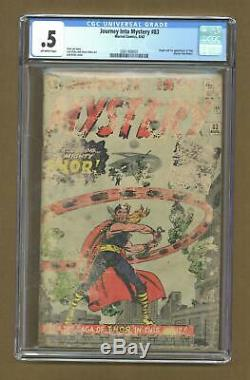 Thor (1st Series Journey Into Mystery) #83 1962 CGC 0.5 0361408001