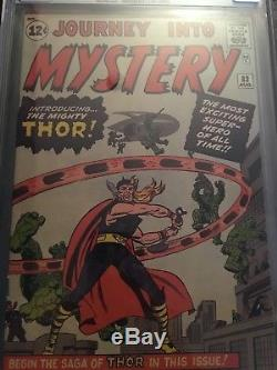 Thor (1st Series Journey Into Mystery) #83 & #85 CGC, 1st Thor & 1st Loki