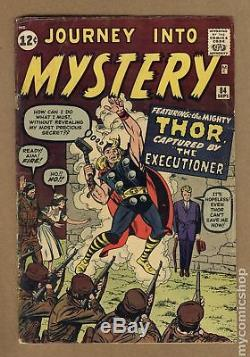 Thor (1st Series Journey Into Mystery) #84 1962 GD- 1.8