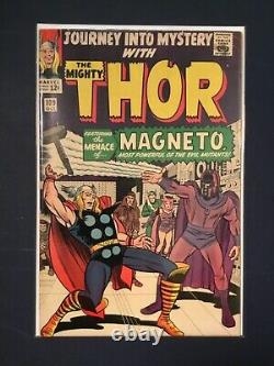 Thor Formerly- Journey Into Mystery #109 Fn 6.0 Magneto, Jack Kirby, Stan Lee