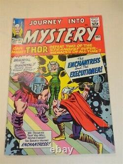 Thor Journey Into Mystery #103 Vg (4.0) Marvel Intro Enchantress April 1964