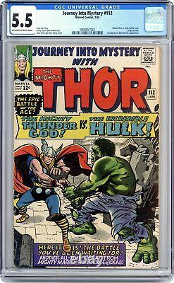 Thor Journey Into Mystery #112 CGC 5.5 1965 3809857020