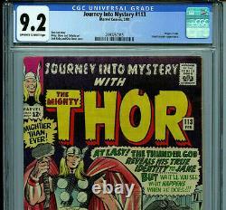 Thor Journey Into Mystery #113 CGC 9.2 1965 Origin of Loki Marvel Comic B19