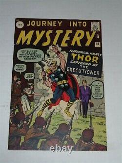 Thor Journey Into Mystery #84 Fn- (5.5) Marvel September 1962 2nd App Thor