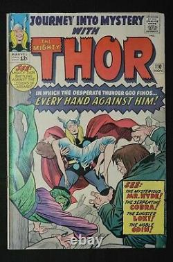 Thor Journey Into Mystery lot #106, 107, 108, 110