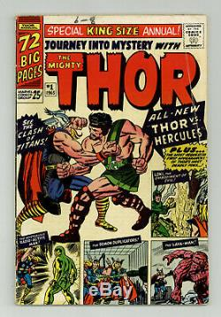 Thor Journey into Mystery King Size Annual #1 1st HERCULES Eternals Movie Rumors