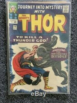 Thor journey into mystery silver age lot, issues 112-113, 115-119