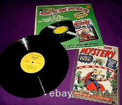 Vintage 1966 Marvel Comics Mighty Thor Golden Record Set with First Issue Repro
