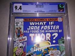 What If #10 (1978) CGC 9.4 NM 1ST JANE FOSTER Journey Into Mystery 83 Homage c