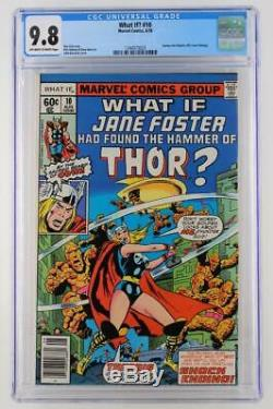 What If #10 -MINT- CGC 9.8 NM/MT Marvel 1978 Journey Into Mystery #83 cvr