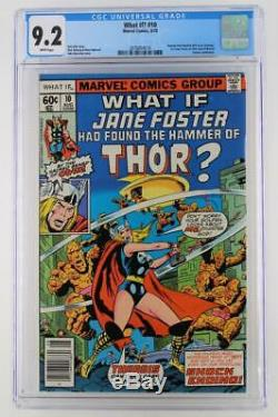 What If #10 -NEAR MINT- CGC 9.2 NM- Marvel 1978 Journey Into Mystery #83 cvr