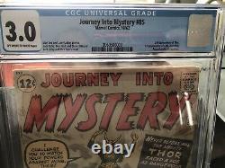X-Men 4 CGC 4.5 Journey Into Mystery 85 Cgc 3.0 Phase 4